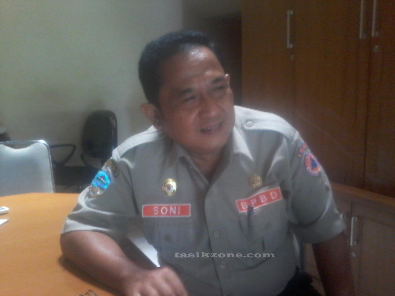 H Soni Kepala BPBD Kota Tasik