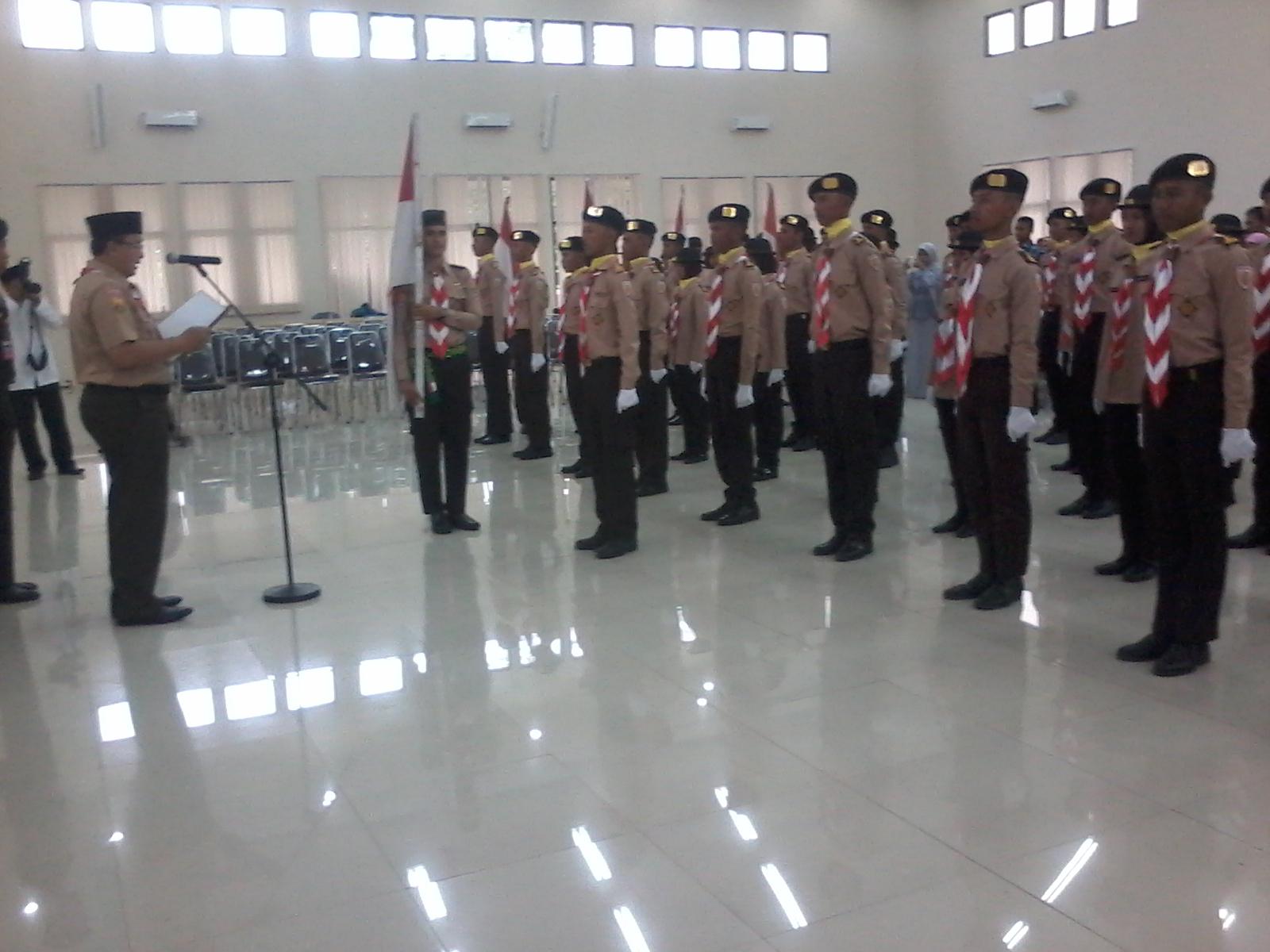 Walikota Kukuhkan Pasukan Tunas Nusantara