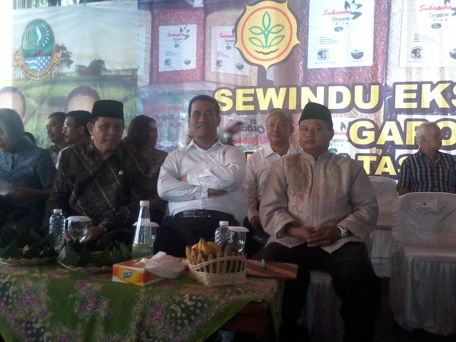 Bupati Tasik Dengan Menteri Pertanian