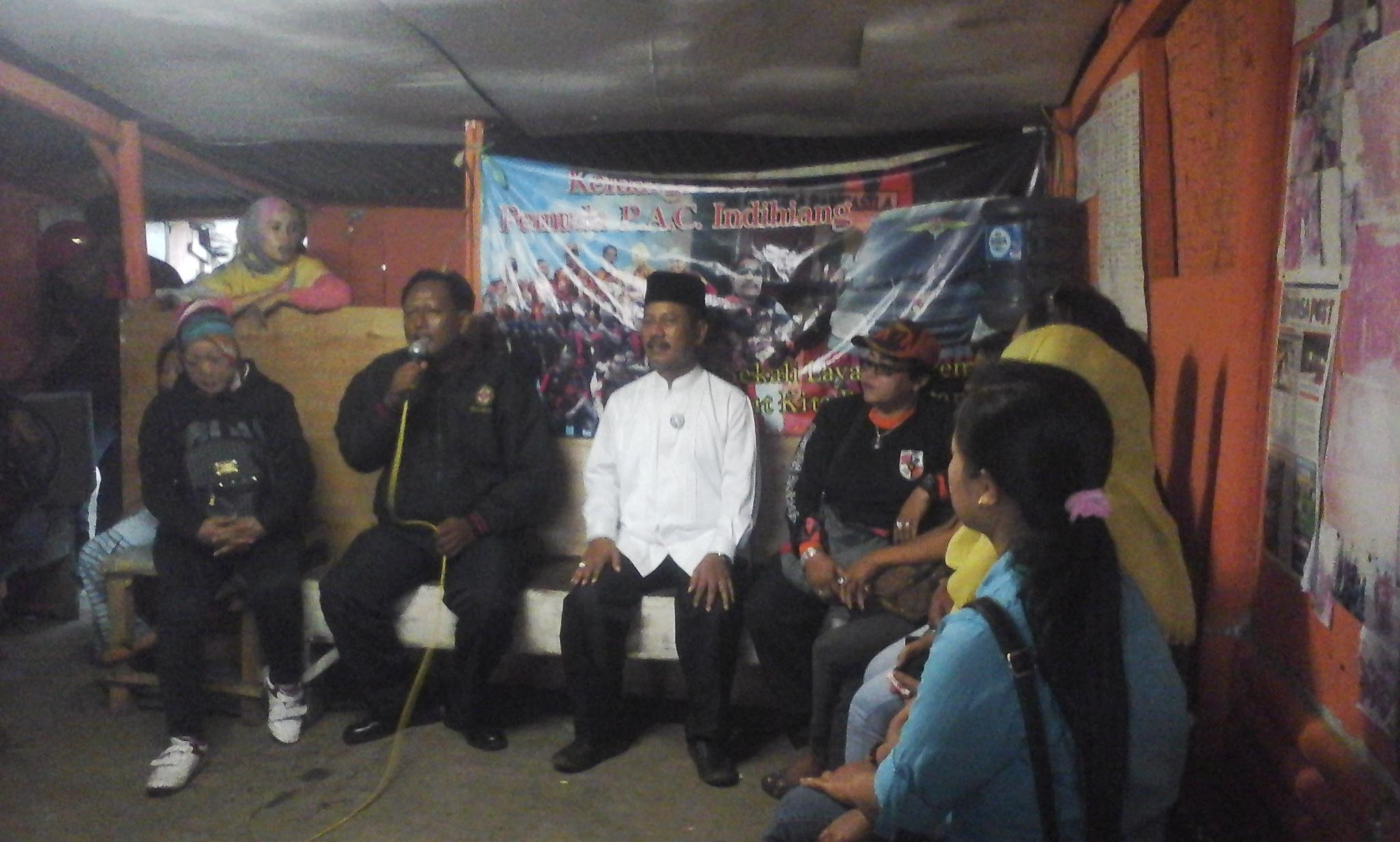Pemuda Pancasila PAC Indihiang Deklarasi Dukung Dahsyat