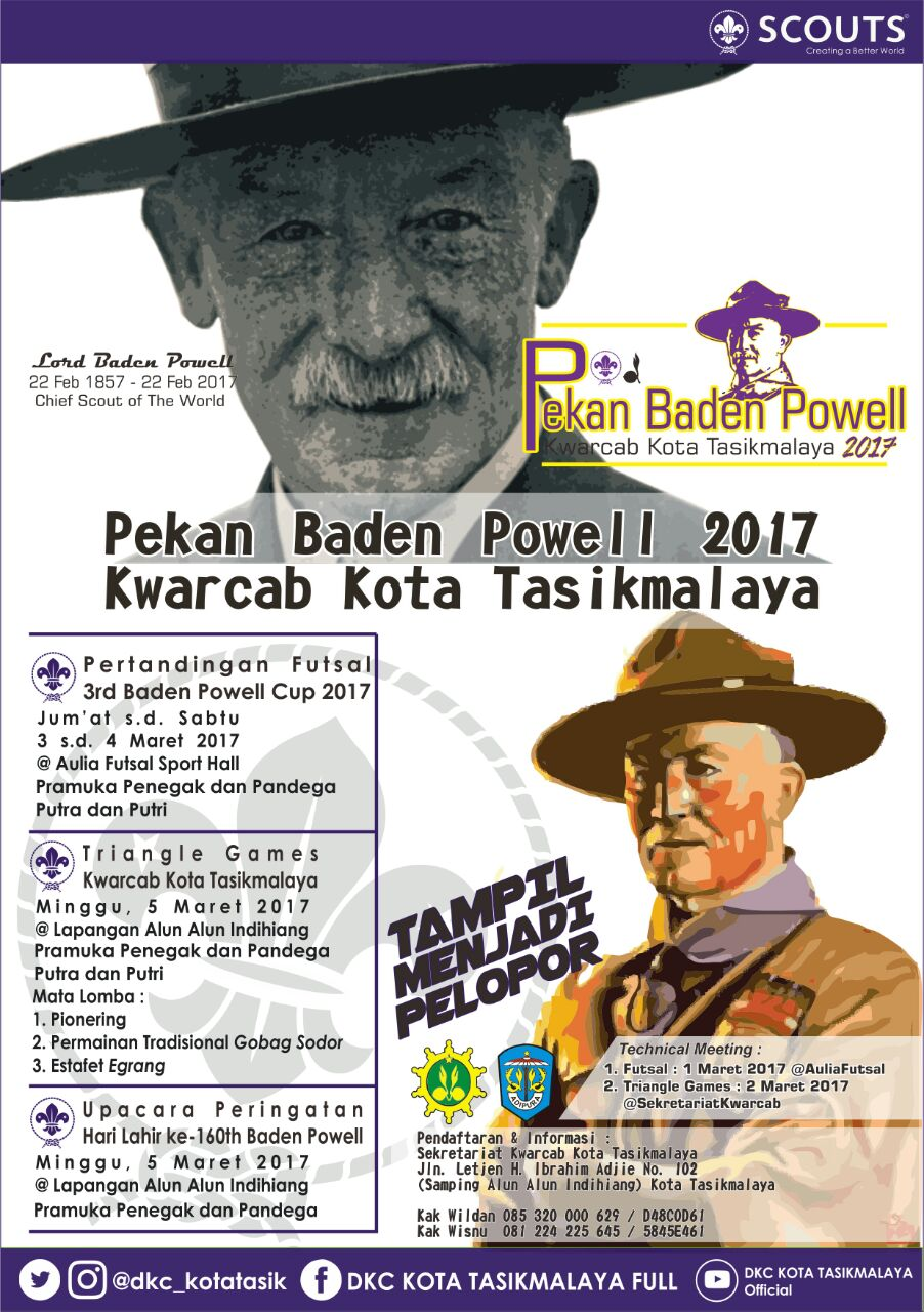 Pekan Baden Powell 2017 Pramuka Kota Tasik