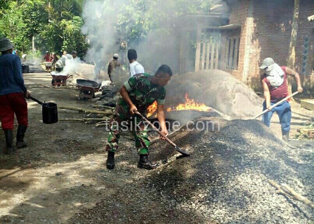 Pemdes Margahayu Sukses Benahi Infrastruktur