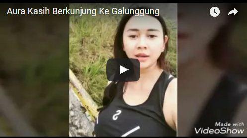 Cuplikan Video Aura Kasih Saat Di Wisata Alam Gunung Galunggung