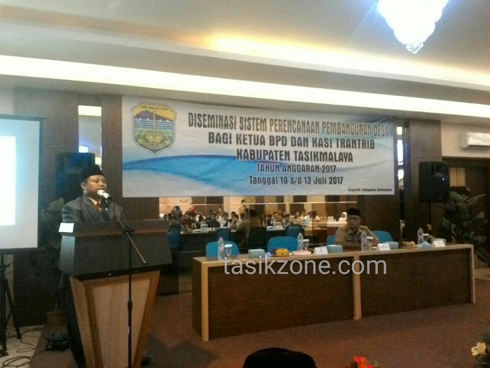 Perencanaan Pembangunan Di Kabupaten Tasik Kini Pakai System Elektronik