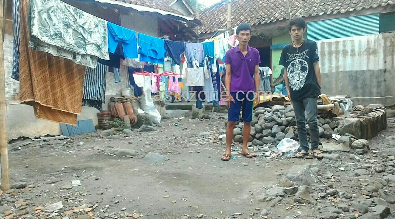 Rumah Tidak Layak Huni Yang Ada Di Tawang Banteng Kini Rata Dengan Tanah