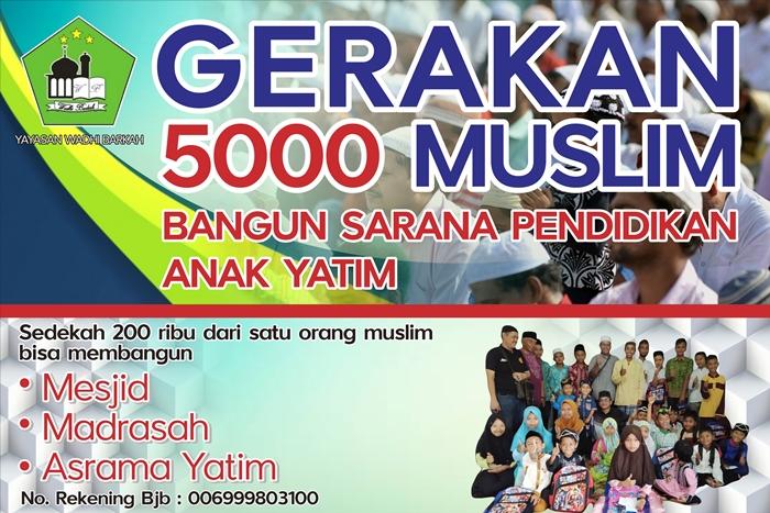 gerakan lima ribu muslim tasikmalaya