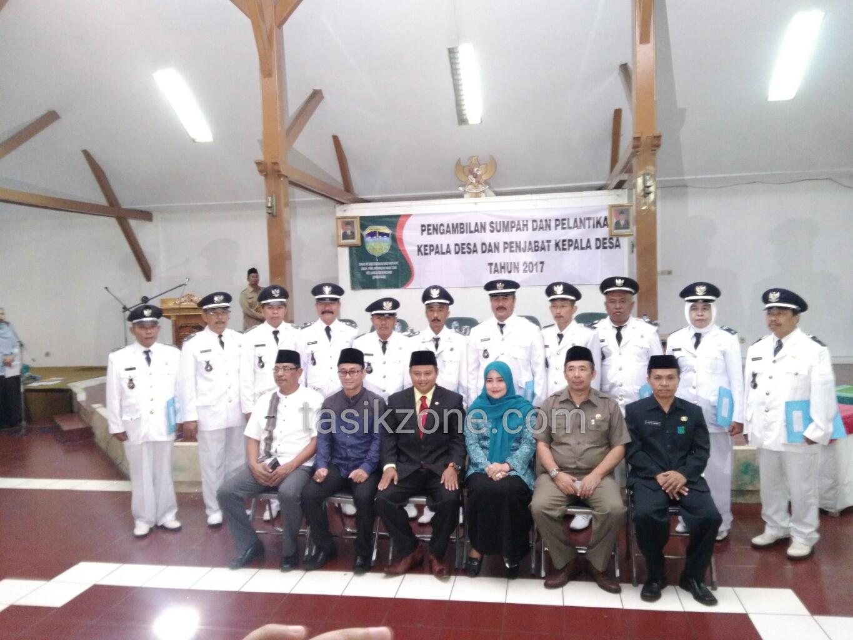 Bupati Tasikmalaya Lantik 11 Penjabat Kepala Desa