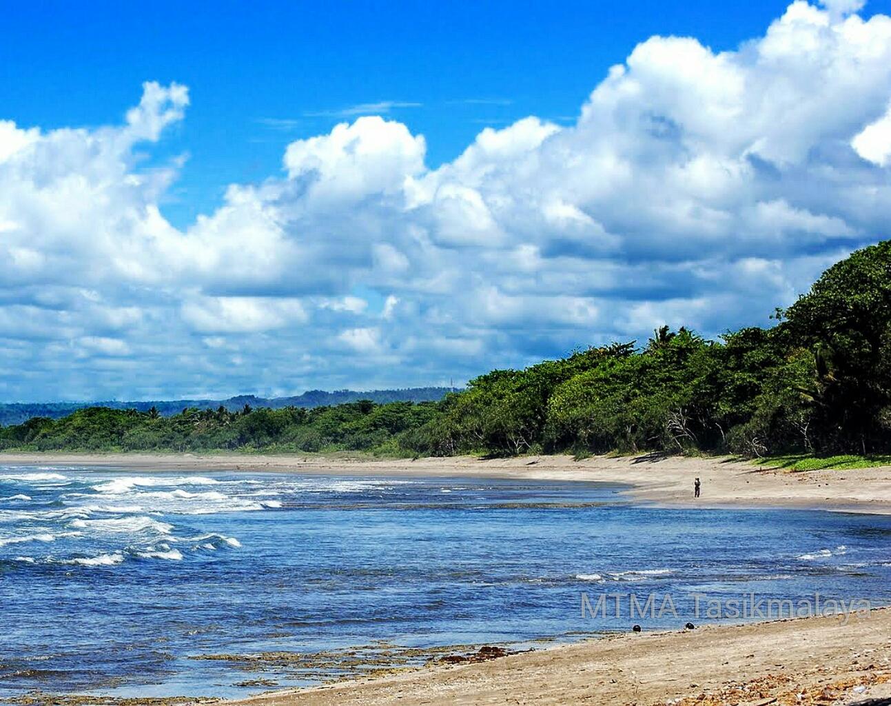 Pantai Pamoekan Sindangkerta Tasikmalaya