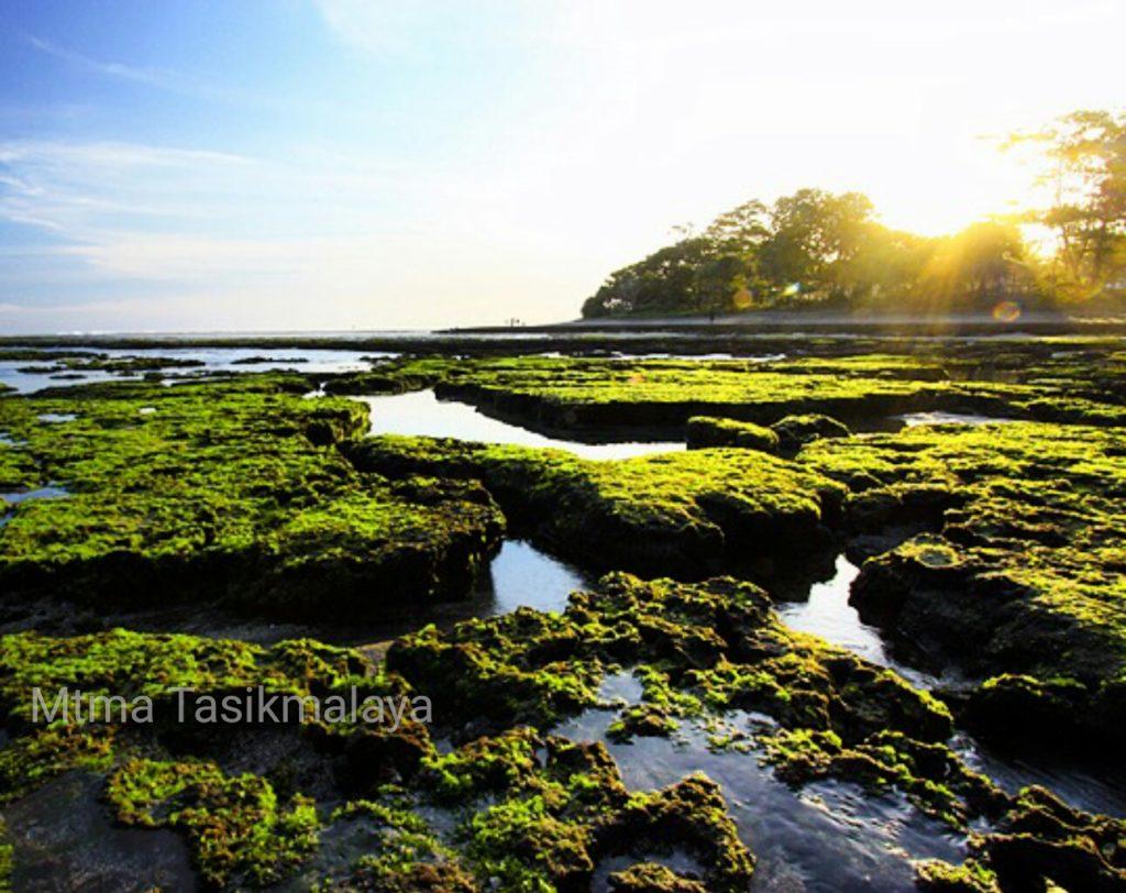 Pantai Taman Lengsar Sindangkerta Tasikmalaya