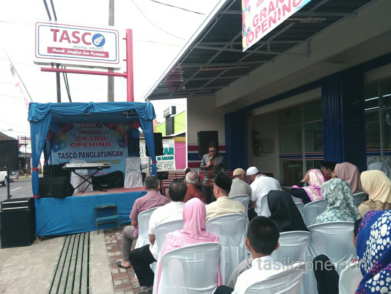 Tasco Panglayungan Resmi Dibuka, Sediakan Stand Untuk UKM