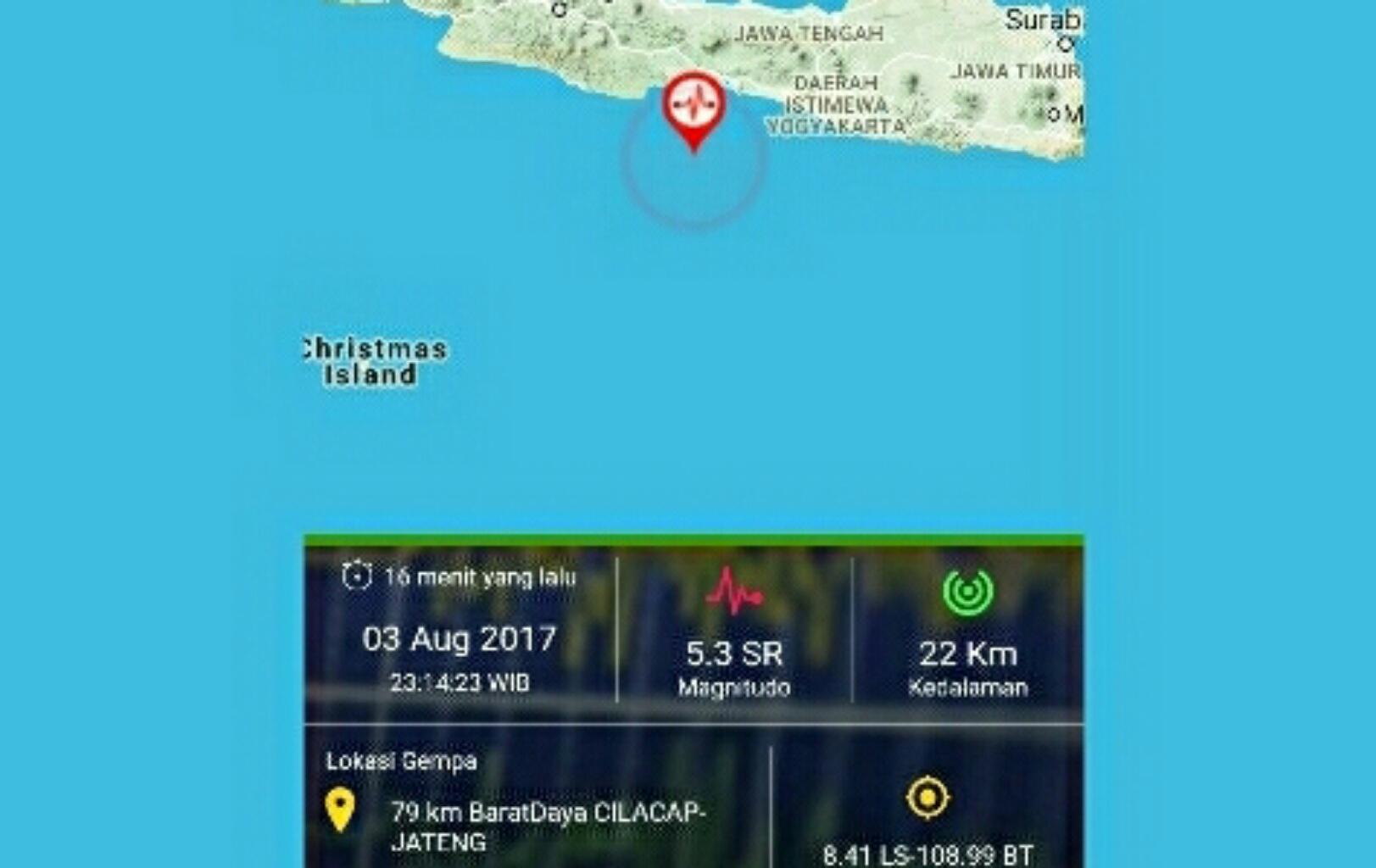 Warga Tasik Di Kagetkan Gempa 5.3 SR Berasal Dari Cilacap
