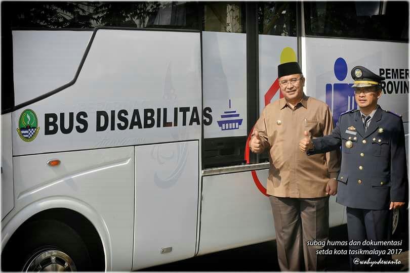 Kota Tasik Mendapatkan Bus Disabilitas, Dari Provinsi Jabar