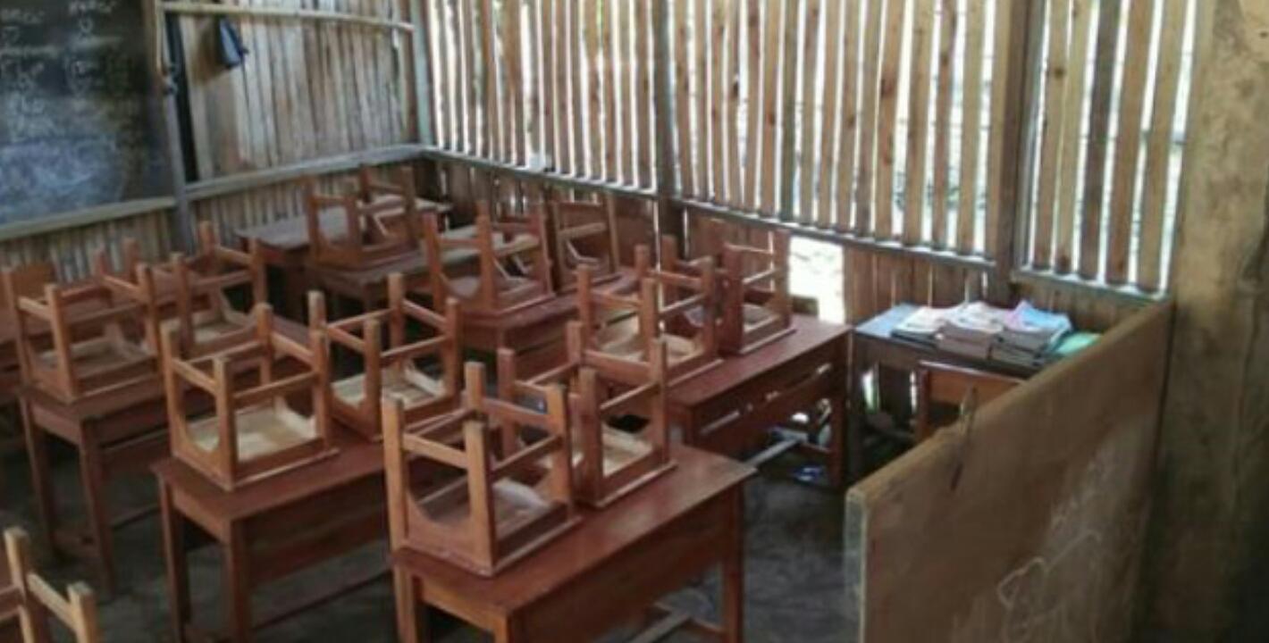 Miris Di Tasik Masih Ada Sekolah Mirip Kandang Ayam