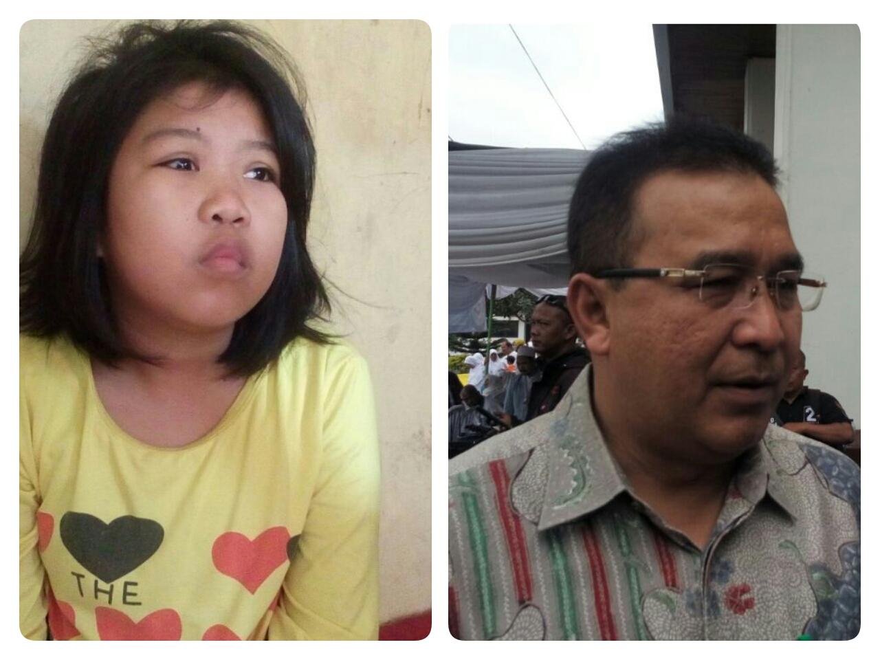 Walikota Berjanji Bantu Anisa Bocah Penderita Katarak