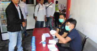 Karyawan PT Pertamina Ditest Urine BNN Kota Tasik