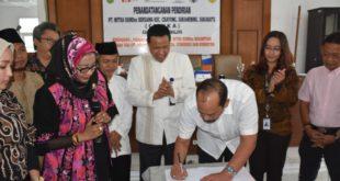 Penandatanganan Pendirian PT. MITRA BUMDES Bersama Kecamatan Cisayong, Sukahening Dan Sukaratu