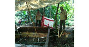 Pramuka Kwarcab Kota Tasik, Bantu Masyarakat Buat Penampungan Air