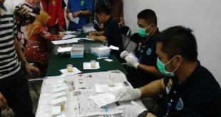BNN Kota Tasikmalaya Tes Urine Pegawai Pengadilan Negeri Tasikmalaya