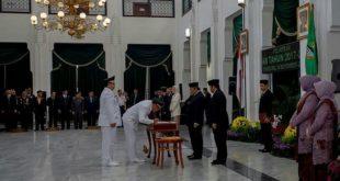 Gubernur Jabar Berpesan Pendidikan Dan Kesehatan Harus Jadi Sekala Prioritas Pasangan Budi-Yusuf