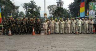 Sambut Pemimpin Baru Kota Tasik, PPM Berkumpul Di Halaman Gedung sate