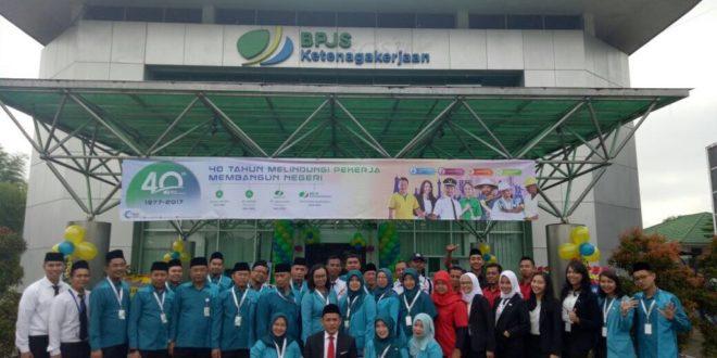 40 Tahun BPJS Ketenagakerjaan Cabang Tasikmalaya Gelar Syukuran Dan Do'a Bersama