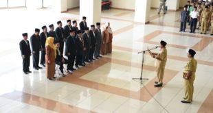 Bupati Kukuhkan Pengurus DKM Masjdi Agung Baiturrohman Kabupaten Tasikmalaya Periode 2017-2020