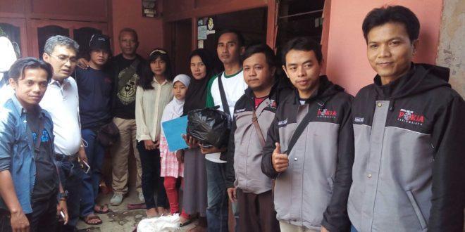 Jurnalis Online Peduli, Santuni Jompo Dan Masyarakat Kurang Mampu