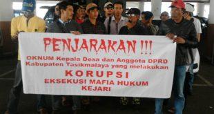 Kejaksaan Singaparna Dianggap Lelet, FWS Menduga Ada Jaksa Masuk Angin