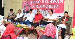 Anton Charliyan Buka Posko Relawan Diharapkan Jadi Penampung Aspirasi Masyarakat