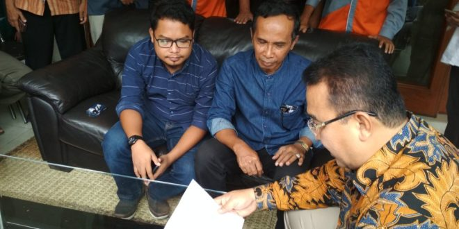 Ketua KPU Kota Tasik Dampingi PPDP Datangi Kediaman Walikota