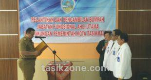 Pertama Dilingkungan Pemkot, 3 Dokter Fungsional Ahli Utama Dilantik