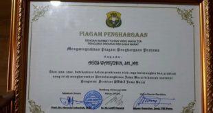 Piagam Penghargaan PBSI Kota Tasikmalaya