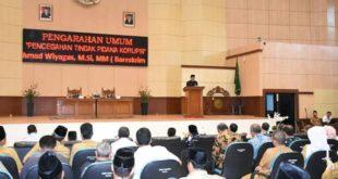 Pemkab Tasik Dukung Upaya Pencegahan Korupsi