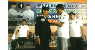 Relawan Kecamatan Sukamantri, Blusukan Sampai Akar Rumput Untuk Pemenangan HY