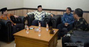 Walikota Tasik Sambut Kedatangan Kejari Kota Tasik Yang Baru
