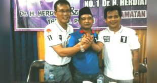 Agus Winarno Berpesan Relawan Tetap Solid Dan Kompak Untuk Kemenangan Herdiat-Yana