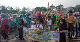 Ajang Kreativitas, Tk SeKota Tasikmalaya Ikuti Karnaval Anak