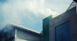 Gedung Akademi Pariwisata UNPER Berasap, Ada Apa