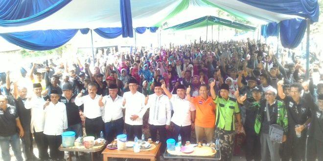 Kehadiran Agus Winarno Membawa Semangat Bagi Relawan Untuk Kemenangan Herdiat-Yana