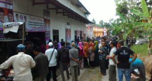Relawan Pemenangan Herdiat-Yana Banjaranyar Berjubel Hadiri Pengukuhan