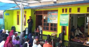 Dukungan Paguyuban Sunda Mekar Untuk Herdiat-Yana Diisi Santunan Anak Yatim