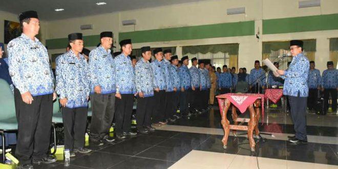 Sekda Kukuhkan Dewan KORPRI Unit Kecamatan Kab Tasik