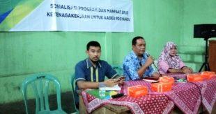 Usai RT Dan RW, H Agus Dorong Kader Posyandu Indihiang Daftar BPJS Ketenagakerjaan