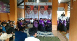 Warga Kampung Selacai Gelar Silaturahmi dan Do'a Bersama Untuk Kemenangan Herdiat-Yana