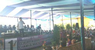 Didepan Ribuan Relawan Herdiat-Yana Kawali, Agus Winarno Berpesan Tetap Jaga Persatuan Dan Kekompakan
