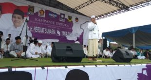 Ini Pesan KH Masum Imam Besar FPI Jabar, Untuk Kemenangan Herdiat-Yana