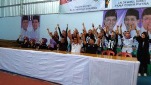 Ratusan Relawan Cisaga Siap Menangkan Herdiat-Yana