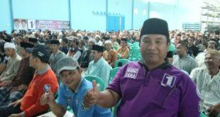 Ratusan Relawan Rajadesa Targetkan 70 persen Suara Untuk Herdiat-Yana