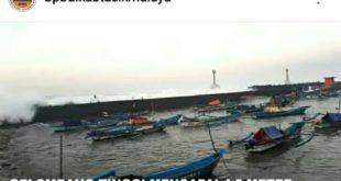 BMKG Perkirakan Gelombang Tinggi Di Perairan Berpuncak Hari Ini