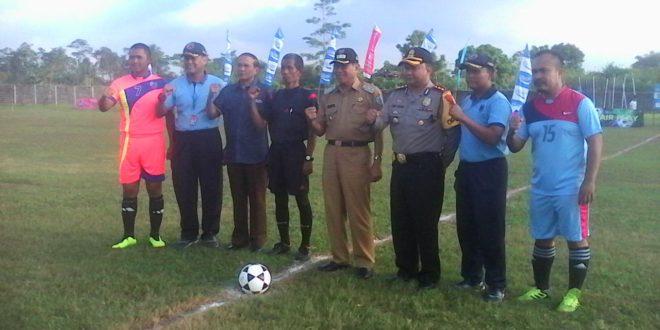 Danlanud Cup Upaya Lahirkan Atlit Sepakbola
